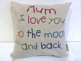 Mum- Love You To The Moon Cushion